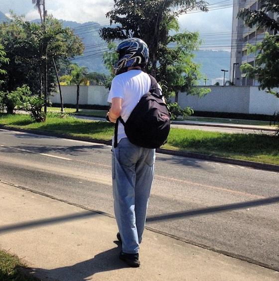 Será que promover o capacete é promover a segurança?