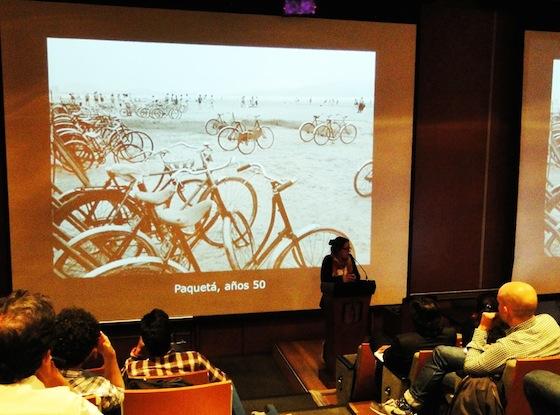 Apresentação sobre as bicicletas no Rio de Janeiro