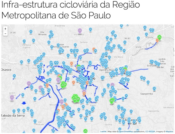 Mapa Consolidado de São Paulo - Código Urbano